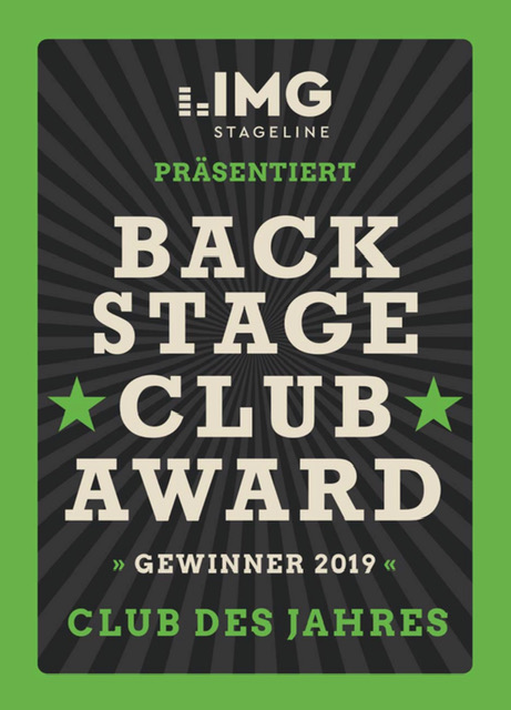 Logo Backstage Club Award 2019